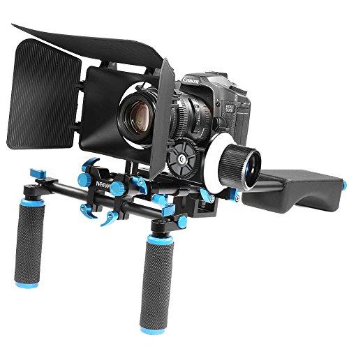 Neewer Aluminum Movie Camera include