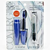 CoverGirl BonusSmoky Eyes Kit- LashBlast Fusion Mascara, #860 Very Black/ Smoky Shadow Blast, #800 Onyx Smoke