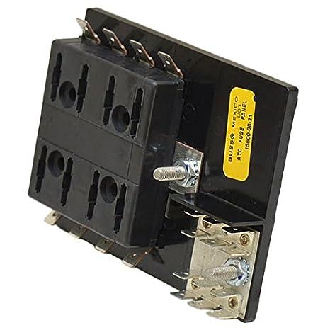 Bussmann 15600-04-20 Short Base 4 Positions ATC Fuse Panel