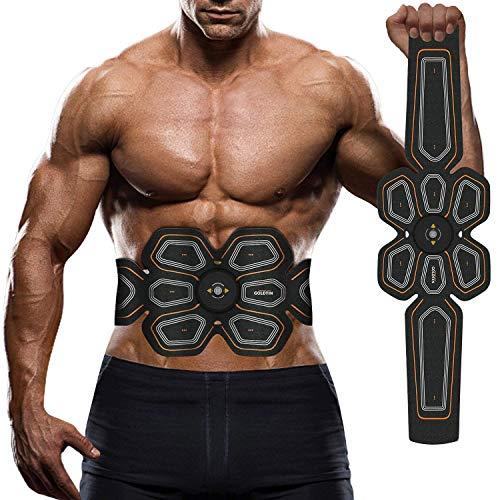 Better Angel EMS Muscular y masajeador, Entrenador Portátil Masajeador Abdominal Eléctrico Cinturón Ejercitador del Cuerpo...