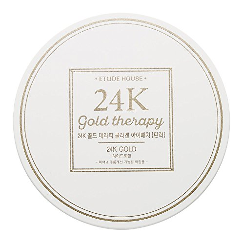 Etude House 24k Gold Therapy Collagen Eye Patch 14g * 60 (Eye Patch Therapy)