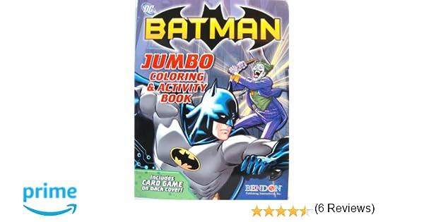 Amazon BATMAN COLORING ACTIVITY BOOK A Toys Games