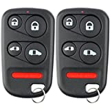 KeylessOption Keyless Entry Remote Control Car Key Fob Replacement for OUCG8D-440H-A (Pack of 2)