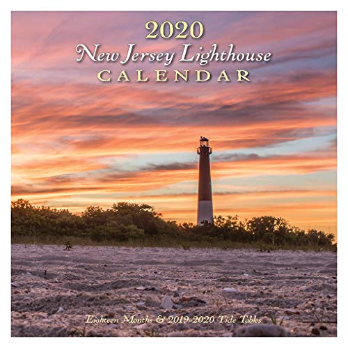 New Jersey Lighthouse Calendar 2020 ()