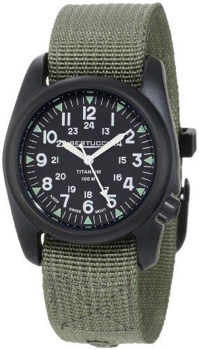 Bertucci Men's 12028 A-2T Vintage Durable Titanium Field Watch (Field Titanium Watch)