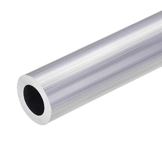 uxcell 6063 Aluminum Round Tube 22mm OD 14mm Inner Dia 300mm Length Seamless Straight Tubing 2 Pcs