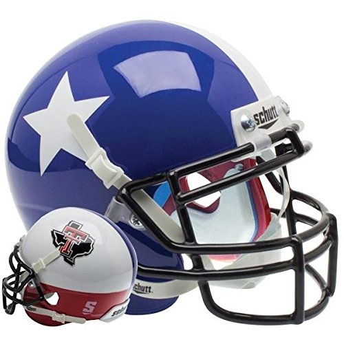 - Schutt NCAA Texas Tech Red Raiders Mini Authentic XP Football Helmet