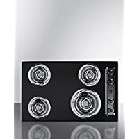 Summit TEL05 Kitchen Electric Cooktop, Black