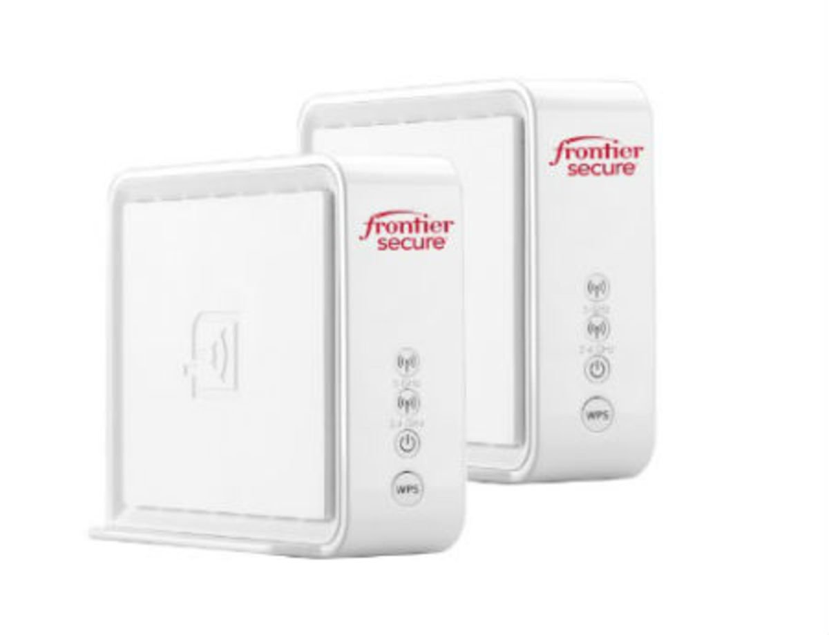 Dual Pack airi By Frontier Secure Air 4920 802.11AC 1600Mbps Smart Mesh Wi-Fi (2 Port Gigabit Ethernet) Mesh Access Point 2.4Ghz/5Ghz/WPS by AirTies