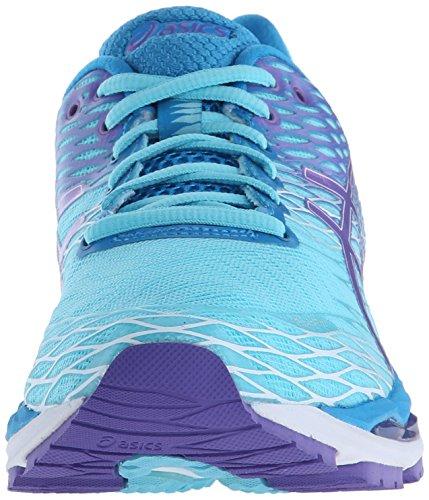 Asics Gel-Nimbus 18Zapatilla de Running de la mujer Turquoise-Iris-Methyl Blue