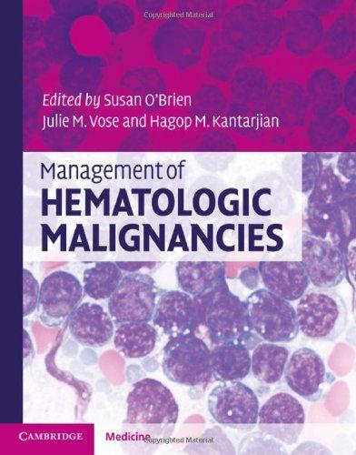 Download Management of Hematologic Malignancies Pdf