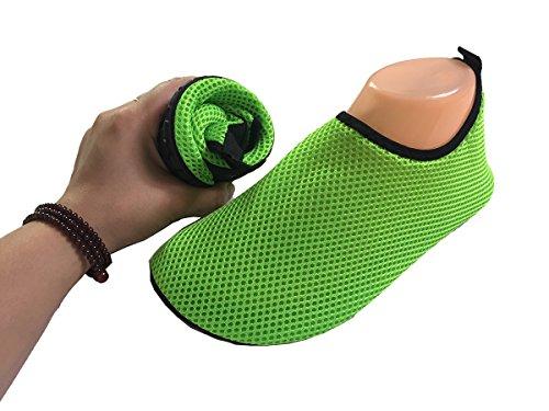 Swim Aqua Men LYZ Green Pool Women amp; Shoes Yoga Sports Surf For Socks Water Beach rYYgEzwq