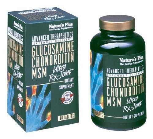 Glucosamine/chondroïtine MSM - Ultra Rx-Joint Nature de Plus de 180 comprimés