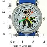 Ben 10 Toy Line Blue Rubber Strap Round Dial Cartoon Watches