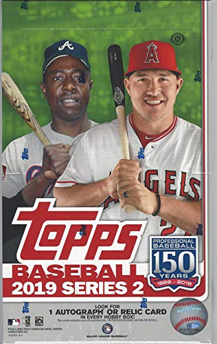 2019 Topps Series 2 MLB Baseball HOBBY box (36 pk, no bonus pack)