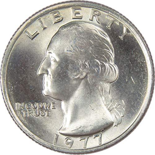 1977 25c Washington Quarter Uncirculated Mint State ()