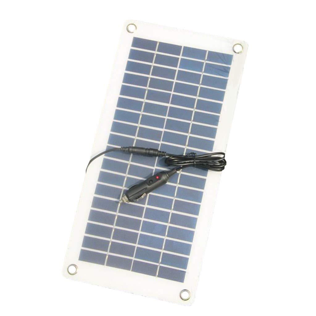 KESOTO Cargador Solar del Panel 12v 8.5w DC 5521 Al Cargador ...