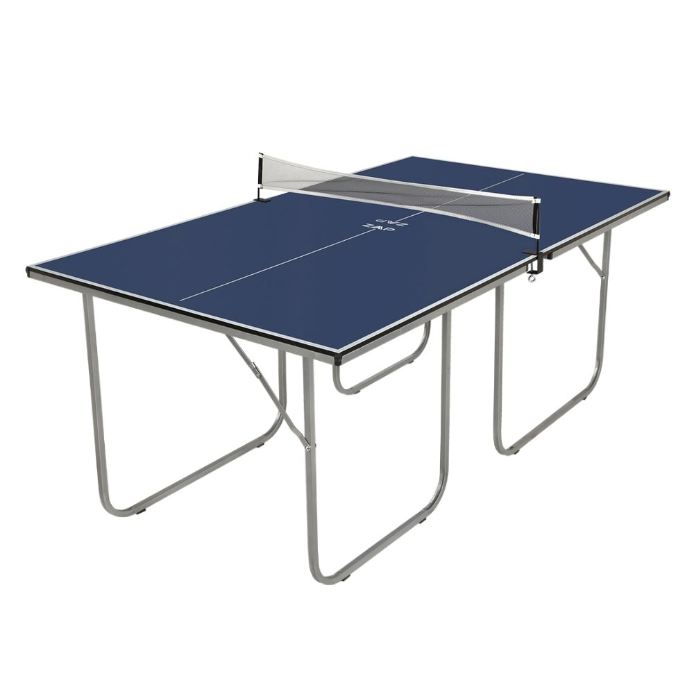 ZAAP Midsize Table Tennis Table-Compact Folding Design-Use as 2 Separate Tables