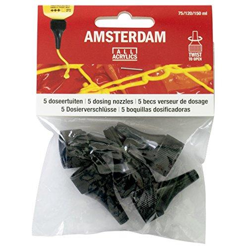 Royal Nozzle - Royal Talens Amsterdam Paint Dozing Nozzles, Pack of 5 (91841709)
