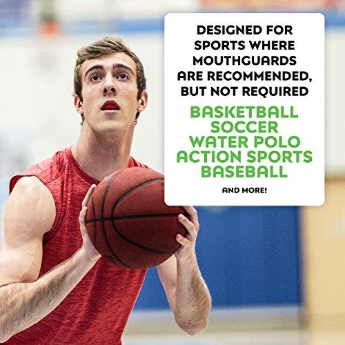 SISU GO Custom Fit Minimalist Sports Mouthguard for Youth/Adults