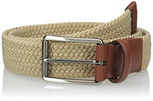 Perry Ellis Khaki (Perry Ellis Men's Perry Ellis Men's Stretch Belt, Khaki,)