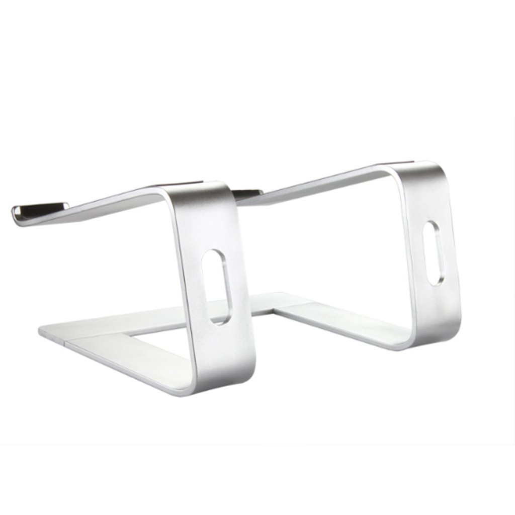 XY Soap dish Laptop Stand, Raised Rack Cooling Aluminum Alloy Computer Stand, Increased Desktop Stand Cervical, Aluminum Alloy Computer Stand, Silver Laptop Stand, 26 Cm 22.5 Cm 14.5 Cm by XY Soap dish (Image #5)