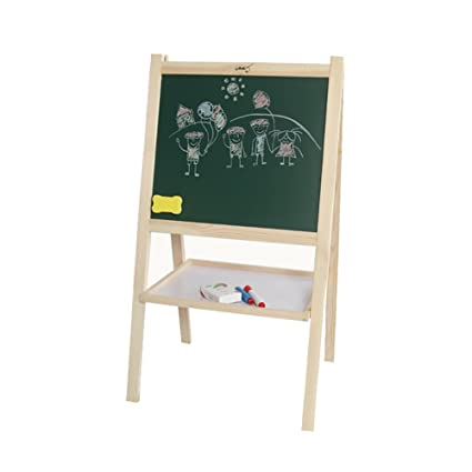 ZXL Caballete de pie de Arte Tablero de Dibujo de Doble Cara ...