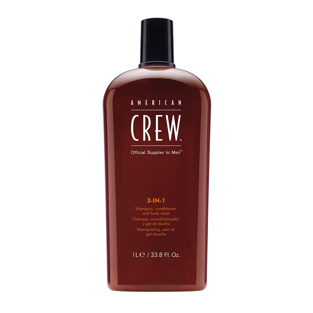 American Crew Classic 3-in-1 Shampoo, Conditioner and Body Wash