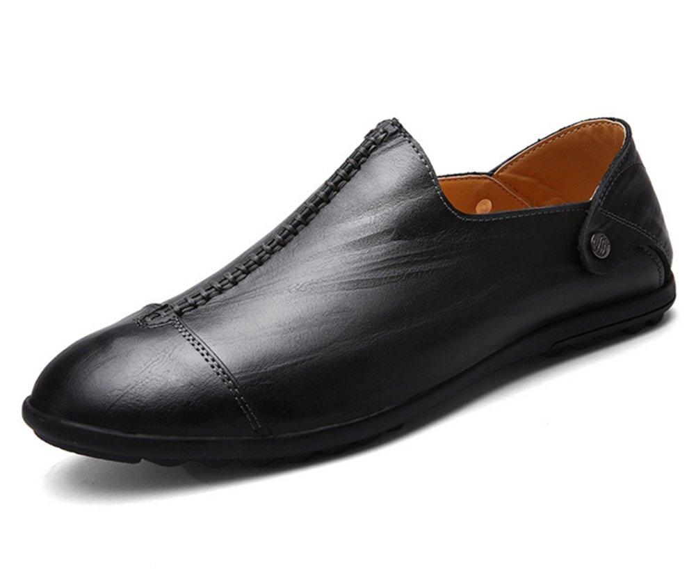 XIE Sommer Herren Freizeitschuhe Leder Business Schuhe Herren Peas Schuhe Trend Herrenschuhe 38-43