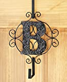 The Lakeside Collection Monogram Wreath Hanger - B