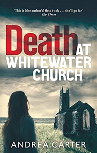 book cover of Death At Whitewater Church