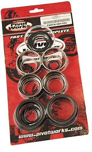 Pivot Works Fork Seal And Bushing Kit Seal/Bushing Forks For Honda CRF250R 2004-2009 / CRF250X 2004-2009 / CRF450R 2002-2008 / CRF450X 2005-2009 - PWFFK-H04-020