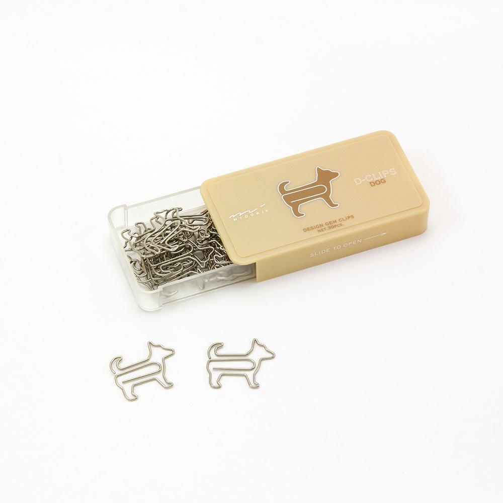 MidoriDog Shaped Paper Clip