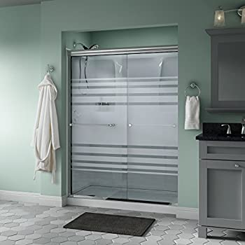 "Delta Shower Doors SD3172281 Windemere 60"" x 70"" Semi"