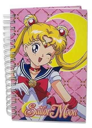 Sailor Moon Sailormoon Hard Cover Notebook (peluca)