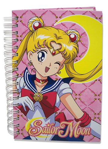 Great Eastern Entertainment Sailormoon Sailor Moon Hard Cover Notebook