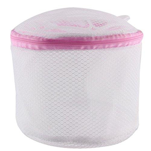 uxcell Laundry Zip up Lingerie Socks Bra Underwear Washing B