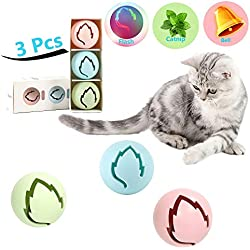 Comfy Modern Animal Pet Supplies Set of 6, 100% Wool Felt Ball Toys for Cats and Kittens, Handmade Eco-Friendly Cat Wool Balls