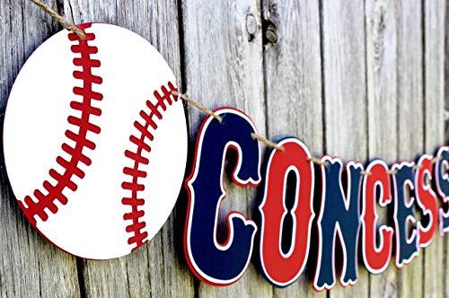Baseball Concessions Banner