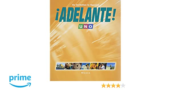 Adelante 1 uno student edition with supersite code vhl adelante 1 uno student edition with supersite code vhl 9781600076091 amazon books fandeluxe Images