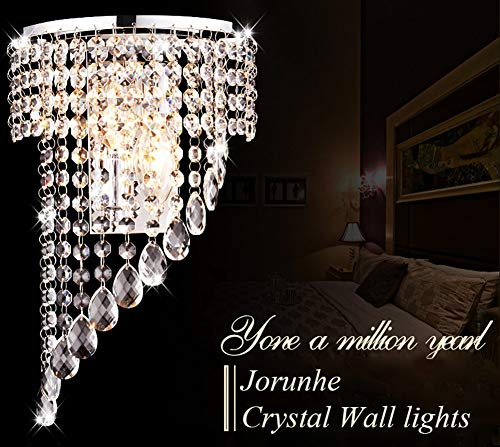 Crystal Wall Lights Aisle Bedside Light Fixtures