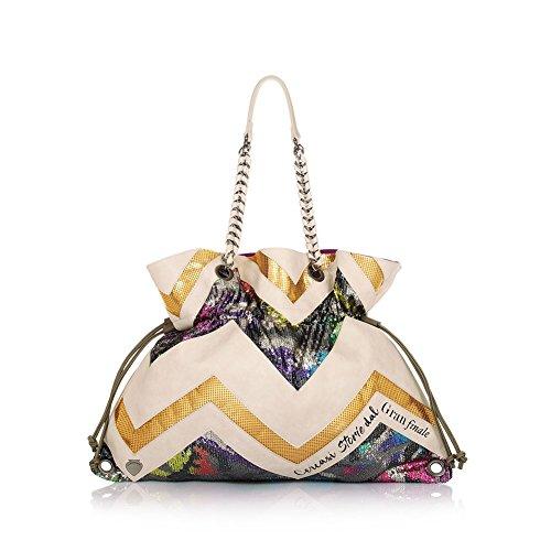 Borsa Donna Shopping Shake Bag Storie   Le Pandorine   PE18DAM02172-Paillettes