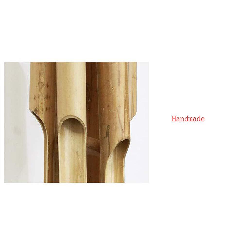 Campanas de Viento Creativas Decoraci/ón Hecha a Mano Decoraci/ón de hogar Campanas de Viento tama/ño : Small XUANLAN Campanas de Viento de Estilo Chino de bamb/ú Creativo