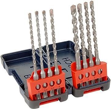 Bosch SDS Plus juego de brocas caja para 8 piezas: Amazon.es ...