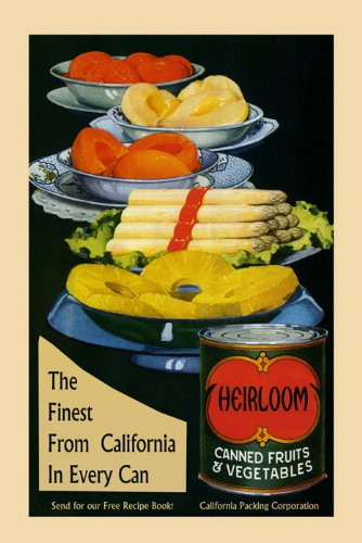 California Asparagus - Food Canned Fruits Vegetables Crate Label California Asparagus Pineapple American Advertising 20