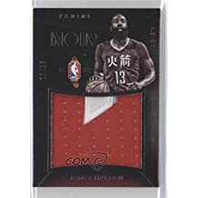 fan products of James Harden #10/25 (Basketball Card) 2014-15 Panini Noir - China Jerseys - Patches #CJP-JH