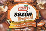 Badia Sazon Tropical Seasoning with Coriander and Annatto 3.52 oz(Pack of 12)