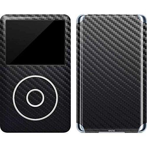 Ipod Carbon Fiber Skin - Textures iPod Classic (6th Gen) 80 & 160GB Skin - Carbon Fiber Texture Vinyl Decal Skin For Your iPod Classic (6th Gen) 80 & 160GB