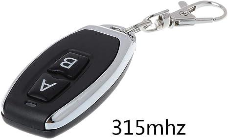 433 315MHz Wireless Remote Control Duplicator Cloning Gate Key  for Garage Door