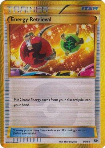 Pokemon - Energy Retrieval (99/98) - Ancient Origins - Holo from Pokemon